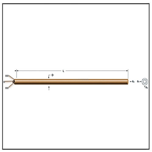 2D Hall Probes Two Axis Probes
