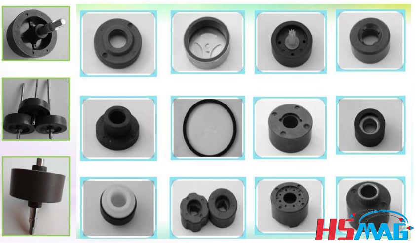 Injection Bonded Ferrite Magnet