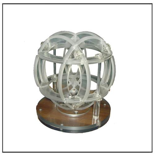 Three Axis Equal Diameter Helmholtz Coil