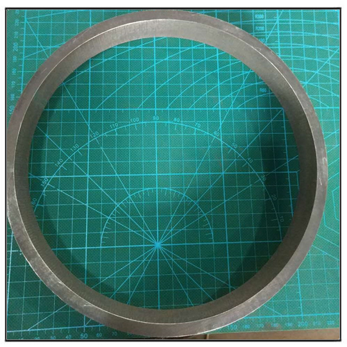 Large Size Multipolar Radially Orientation Magnetic Ring