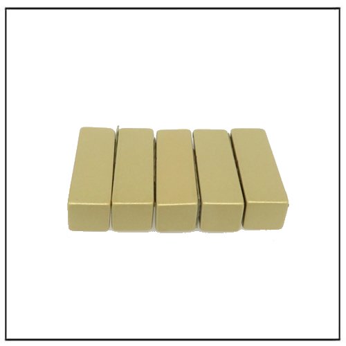 Everlube Coated NdFeB Rare Earth Block Magnet for Linear Motor