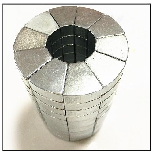 NdFeB Segment Wind Power Alternator Magnet