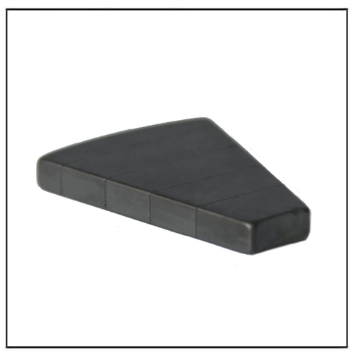 Fan-shaped Laminated Neodymium Magnets