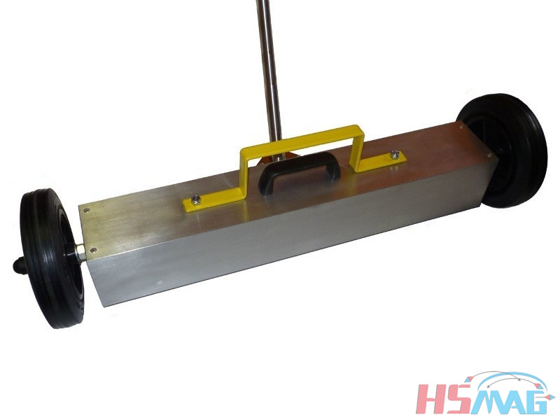 Magnetic Broom Sweeper Neodymium Wheel Base