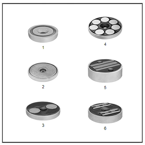 Encased Neodymium Magnets with Unthreaded Hole