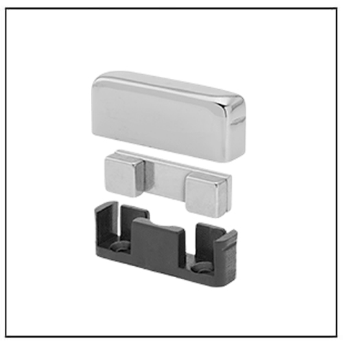 Polished Cover Plastic Encased Neodymium Magnets
