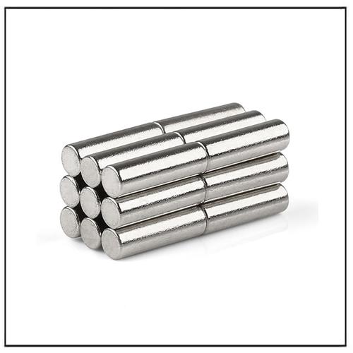 Neodymium Cylinder Motor Encoder Magnets