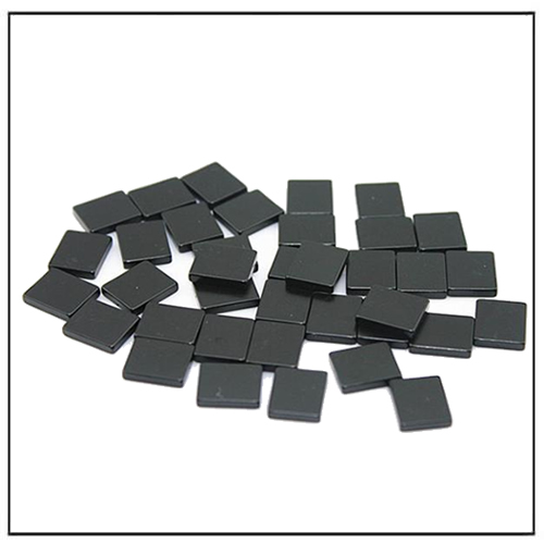 Black Epoxy Plated Rare Earth Square Magnets N50