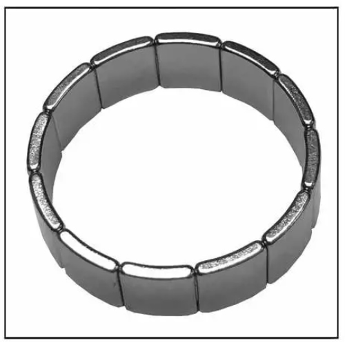 Generator Rotor Magnet Arc Neodymium Permanent N50SH