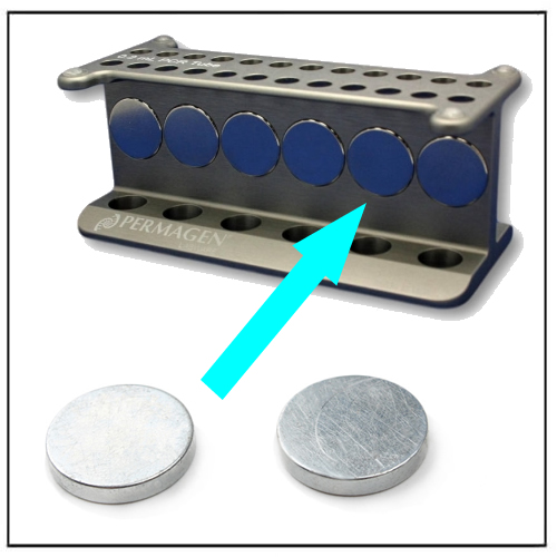 NdFeB Disc Magnets for Microtube Magnetic Stand