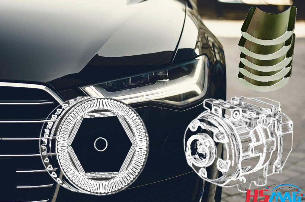 Rare Earth Magnets in Hybrid and Electric Vehicles