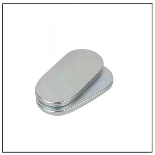 Zinc Plated Sintered Neodymium-iron-boron Ellipse Shape Magnets