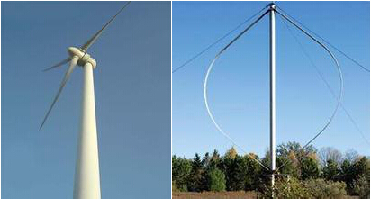 Wind Turbines VAWTs and HAWTs