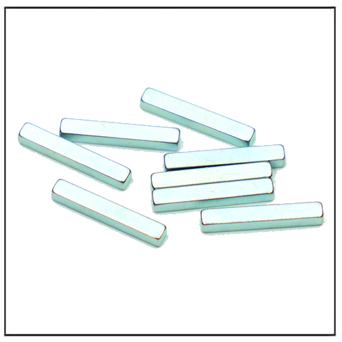 38SH Block Shape Permanent Magnet Blue Zinc-Plated