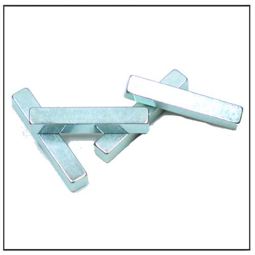 Rectangular Magnets Zinc-Plated NdFeB 48SH