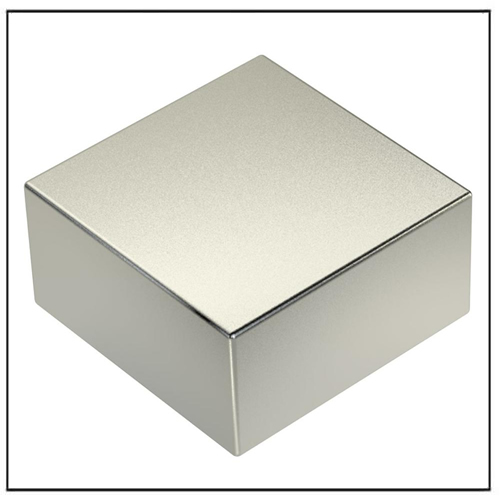 Super Strong N50 Sintered Neodymium Magnet Block Square