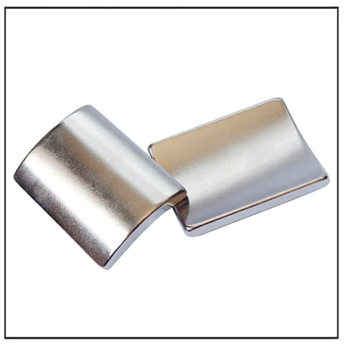 Customized Size N35H Grade Motor Curved Neodymium Magnet
