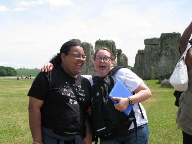 Iris & Emily own their tourist experience!