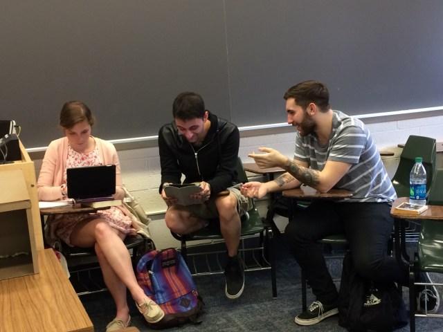 iPads in class