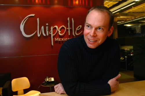 Steve Ellis: Chipotle CEO & Art History major (from TIME magazine)
