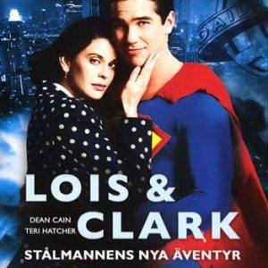 Lois & Clark (Stålmannen)Säsong 2 box 1(3dvd)(DVD)