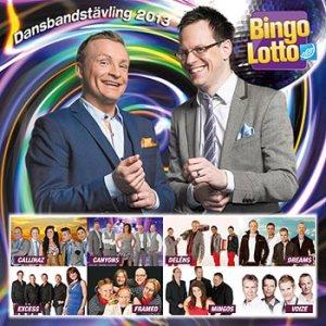BingoLotto Dansbandstävling 2013(CD)