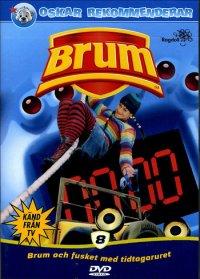 Brum 8 Och fusket med tidtagaruret (DVD)