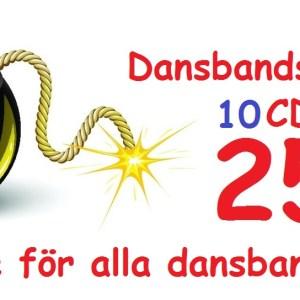 Dansbandsbomben (10cd)(CD)