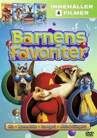 Barnens Favoriter (4dvd)(DVD)