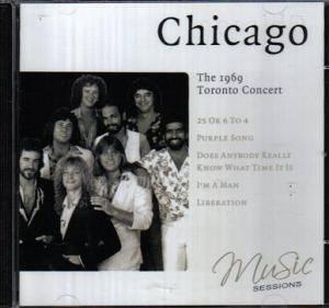 Chicago – 1969 Toronto Concert (CD)