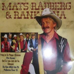 Rådberg Mats & Rankarna – Mats Rådberg&Rankarna (CD)