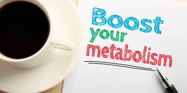 Cafe aumenta el metabolismo