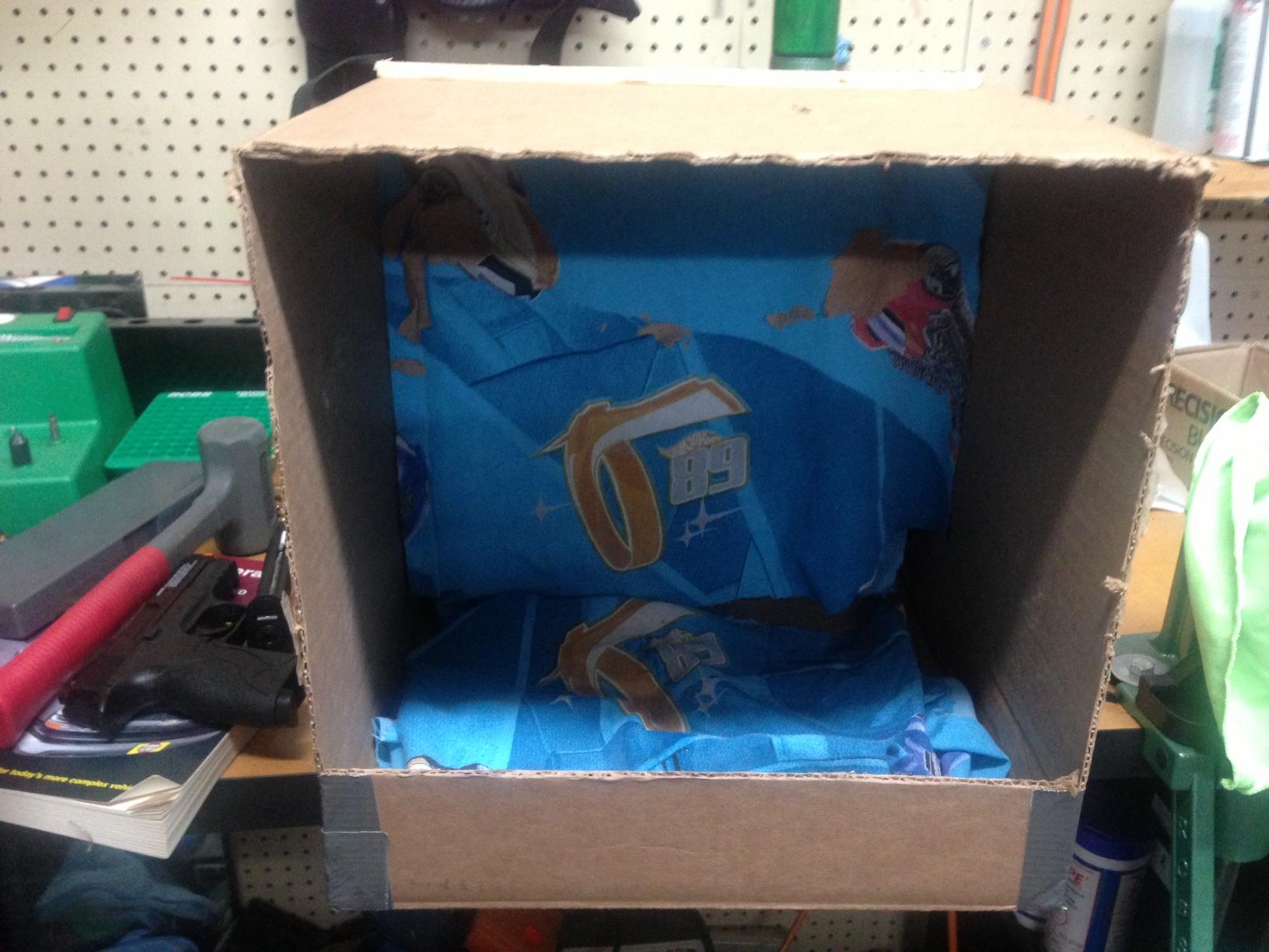 how to make a cardboard box trap