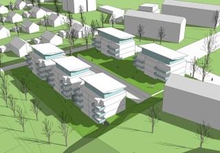 Wohnbebauung Mainz