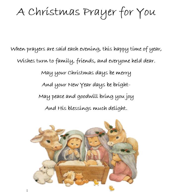 MDO Christmas Prayer