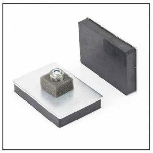 Threaded Stud Magnetic Pad MagPad-2