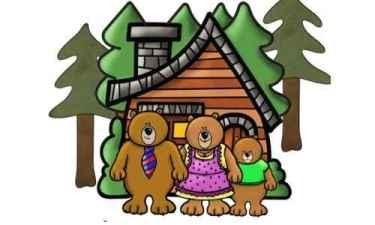 Riccioli d'oro e  i tre orsi
