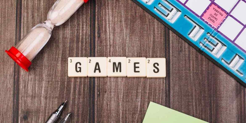 board games in English