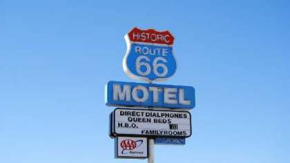 Motel sulla Historic Route 66