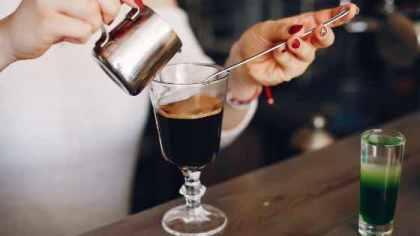 come si prepara un Irish coffee