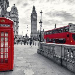 Cabina Rossa Telefonica Inglese