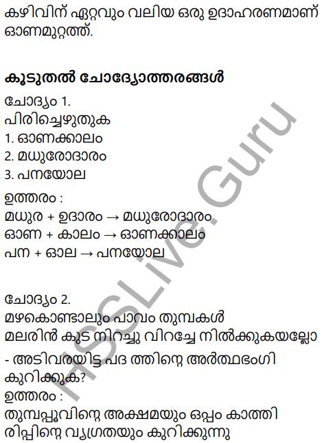 Adisthana Padavali Malayalam Standard 10 Solutions Unit 2 Chapter 2 Onamuttath 18
