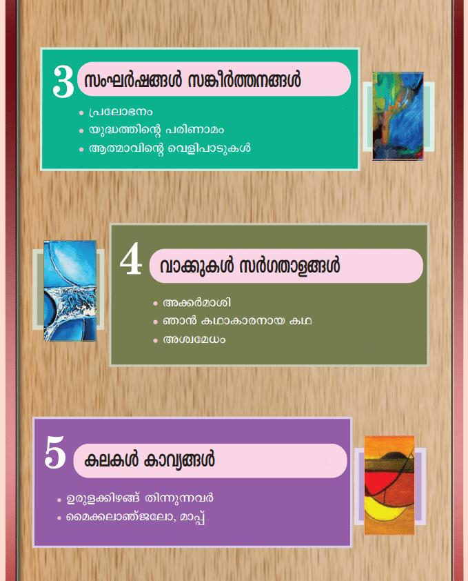 Kerala Padavali Malayalam Standard 10 Guide Solutions Answers Notes Part 2