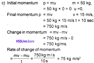 Kerala Syllabus 9th Standard Physics Solutions Chapter 3 Motion and Laws of Motion 22