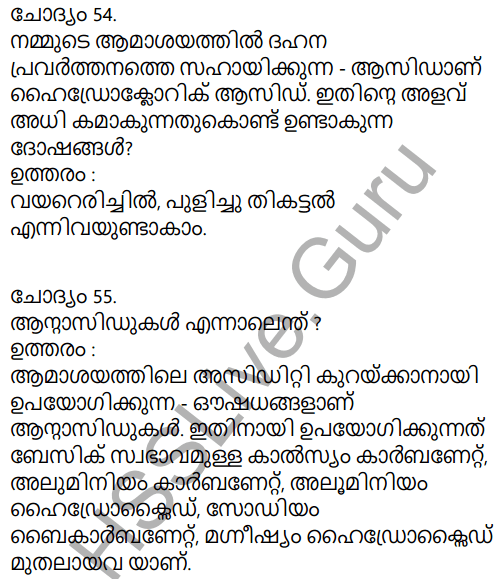 Kerala Syllabus 9th Standard Chemistry Solutions Chapter 5 Acids, Bases, Salts in Malayalam 25