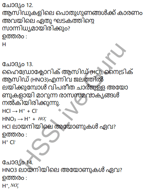 Kerala Syllabus 9th Standard Chemistry Solutions Chapter 5 Acids, Bases, Salts in Malayalam 7