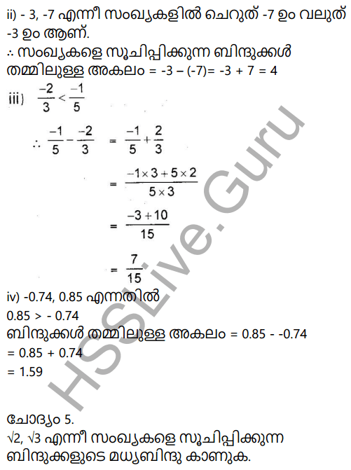 Kerala Syllabus 9th Standard Maths Solutions Chapter 10 Real Numbers in Malayalam 20