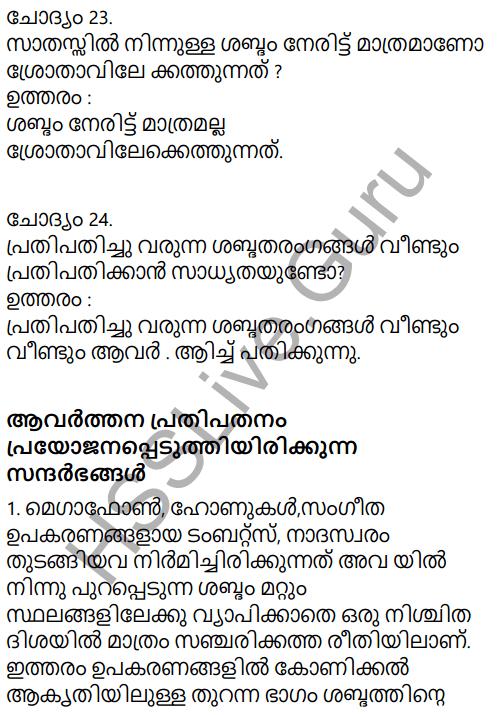 Kerala Syllabus 9th Standard Physics Solutions Chapter 7 Wave Motion in Malayalam 21