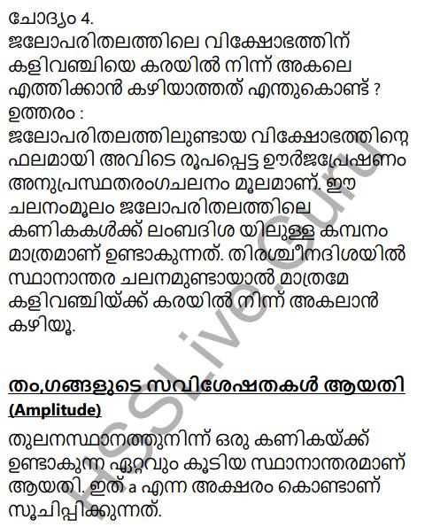 Kerala Syllabus 9th Standard Physics Solutions Chapter 7 Wave Motion in Malayalam 6