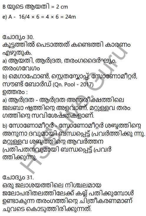 Kerala Syllabus 9th Standard Physics Solutions Chapter 7 Wave Motion in Malayalam 71
